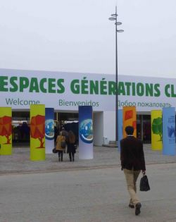The Climate Generations Areas at COP21 provided incredible opportunities to meet people from all over the world.