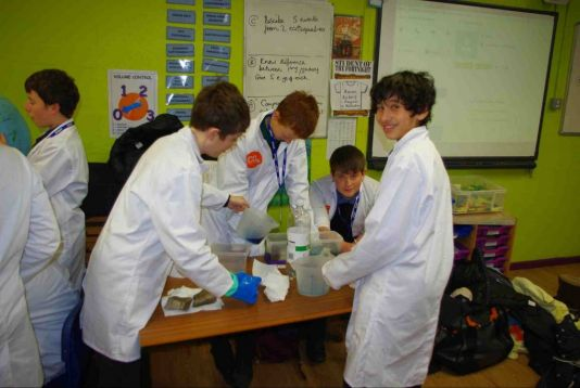 Bosworth Academy students look at sea level rise