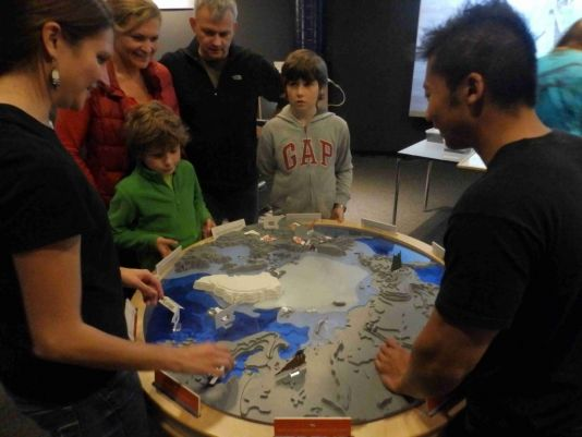 Layers of ice - learning about the Arctic