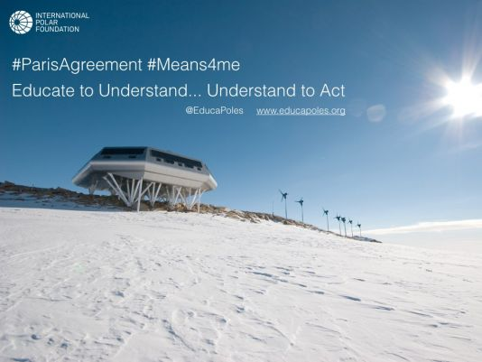 Together, let's bring the Paris Agreement to life.